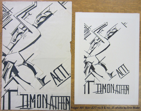 Timon of Athens: nine not-actually-lost drawings by Wyndham Lewis | English Literature after 1700 | Scoop.it