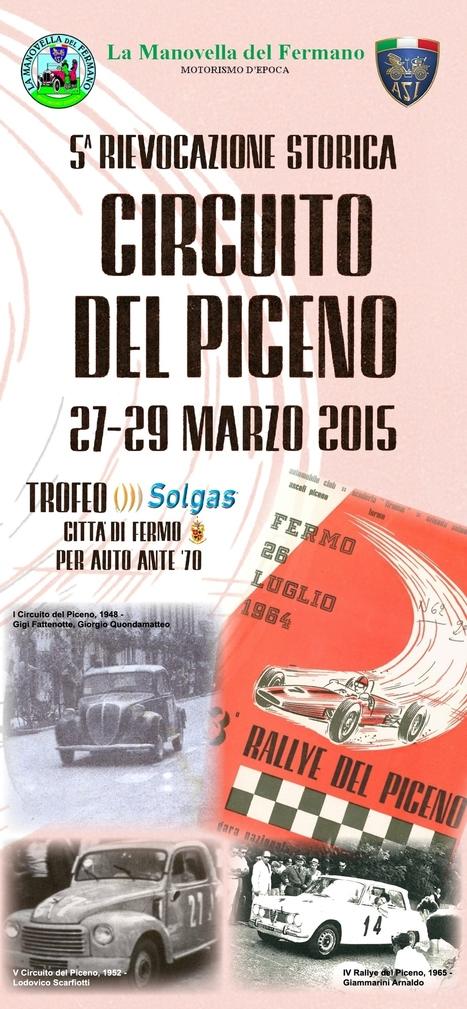 Circuito del Piceno: nel sud delle Marche si rievoca una gara d'altri tempi | Le Marche un'altra Italia | Scoop.it