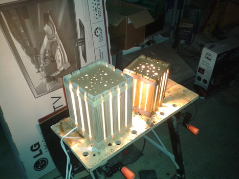 Homemade lamps with pallets | Dyi | Scoop.it