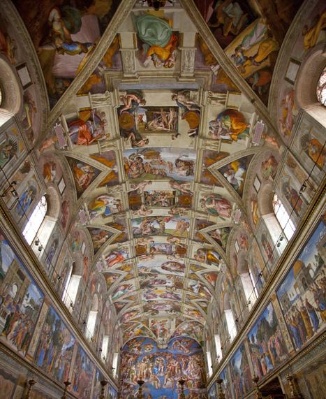 Sistine Chapel virtual tour | Architettura, design, arredamento: le case più belle - LIVING INSIDE | Scoop.it