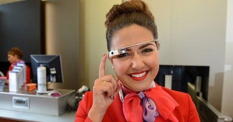 Virgin Atlantic Staffers Can Now Check You In With Google Glass | Schiphol | Scoop.it