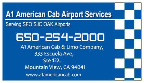 Taxi Saratoga to San Francisco, San Jose & Oakland Airport - 24/7 Service | SFO Taxi Service | Scoop.it