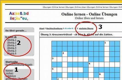 Online - Übungen Deutsch Rechtschreibung, Grammatik, Englisch Grammatik und Geschichte | Einfache Tools für den Sprachunterricht | Scoop.it
