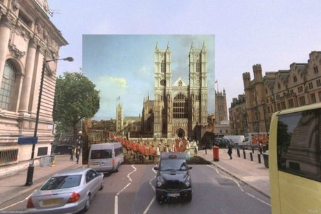 Compare: how London looks on Google vs. paintings from the 1700s | D_sign | Scoop.it