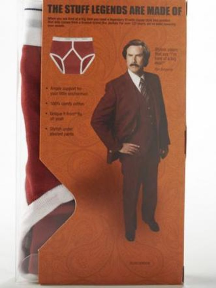 Ron Burgundy Undies! | Kitsch | Scoop.it