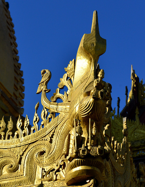 Asia Uncovered: The Golden Shwezigon Pagoda   Asia Uncovered   Scoop.it