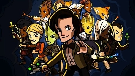 The Delightful, Free Doctor Who Video Game May be the Biggest Doctor Who Thing Ever | Transmedia: Storytelling for the Digital Age | Scoop.it