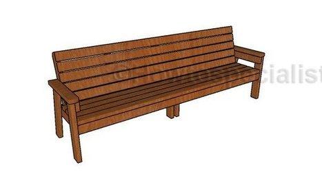 8ft garden bench | Garden Plans | Scoop.it