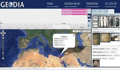 Geodia, mapa interactivo sobre la cultura y arqueología Mediterránea | TIG | Scoop.it