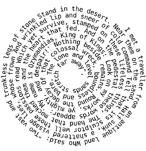 Spiral path poetry. | Edumathingy | Scoop.it