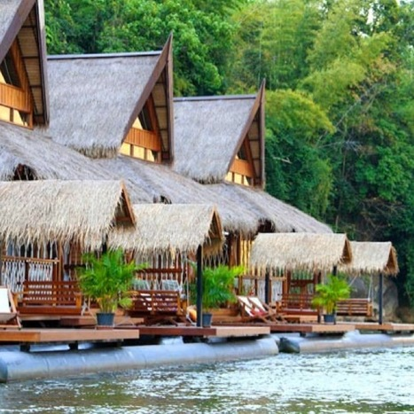 Abandon land for Southeast Asia's best 'floatels'   Thailand Business News   Scoop.it