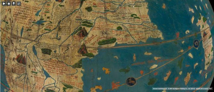 Des globes numérisés en trois dimensions | Le blog de Gallica | Kiosque du monde : A la une | Scoop.it
