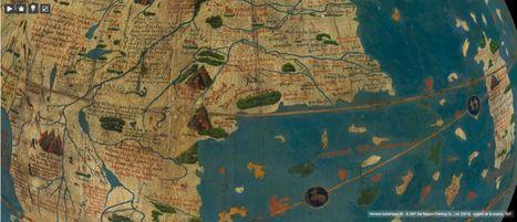Des globes numérisés en trois dimensions | Le blog de Gallica | Humanidades digitales | Scoop.it