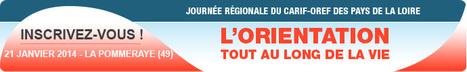 Programme | Journée du CARIF-OREF 21/01/2014 - La Pommeraye | Actu du Carif-Oref des Pays de la Loire | Scoop.it