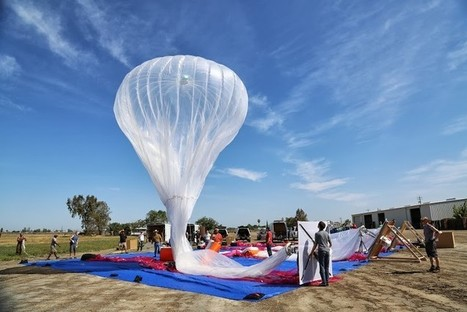 Google Is Trying To Give The Entire World Internet Access With High-Flying Balloons | Telecom trends & Digital wonders | Scoop.it