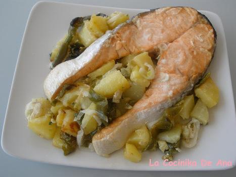 La Cocinika De Ana: Salmón al horno | A cocinar | Scoop.it
