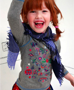 Oilily Scarf & Oilily Scarves, Children Oilily Scarf - Olly Seven | Kids Clothing Online Store | Scoop.it