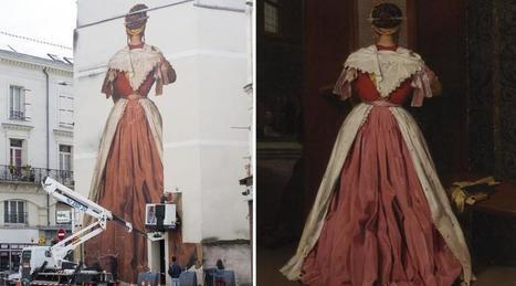 Angers. Les œuvres s'envolent du musée jusqu'aux murs | MuséoPat | Scoop.it