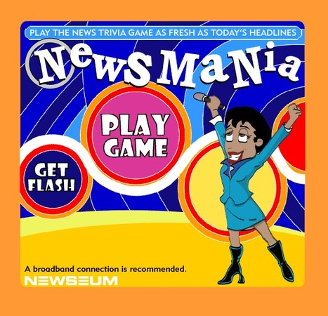 NewsMania - The News Trivia Game as Fresh as Today's Headlines | EFL Interactive Games and Quizzes | Scoop.it