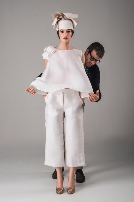Fashion design inspired by the classics of the Italian Literature: Vittorio Camaiani Atelier SS14 | Italy | Scoop.it
