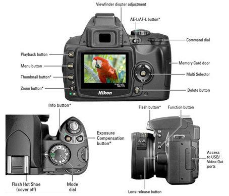 Nikon D40/D40X For Dummies Cheat Sheet - For Dummies | Nikon d40 | Scoop.it