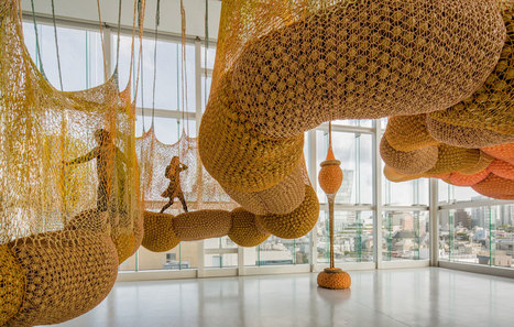 Ernesto Neto: madness is part of life | Art Installations, Sculpture, Contemporary Art | Scoop.it