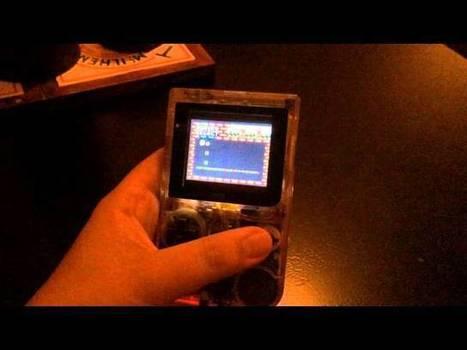 Build a Raspberry Pi Powered Retro Game Console Inside a Game Boy | Raspberry Pi | Scoop.it