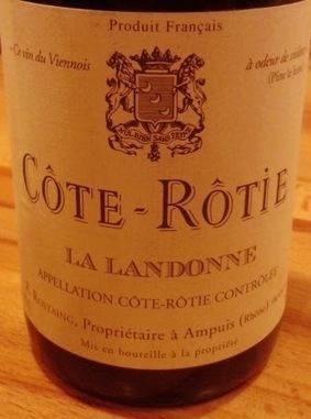 EnoItaca: Côte Rôtie AOC La Landonne 2001 Domaine René Rostaing | oenologie en pays viennois | Scoop.it
