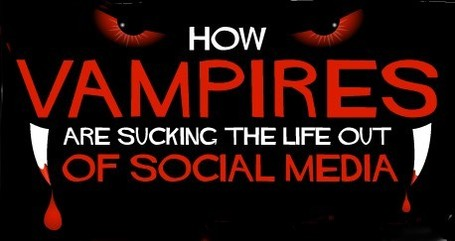 'True Blood,' 'Twilight' Sink Teeth Into Social Media [INFOGRAPHIC] | A New Society, a new education! | Scoop.it