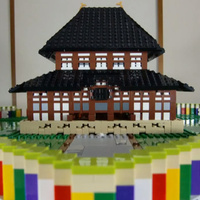 """Japanese Guy Creates Amazing """"Pop-Up"""" LEGO, Blows Minds 