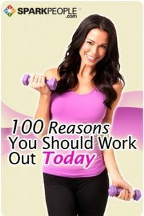100 Reasons You Should Work Out Today | One Step at a Time | Scoop.it