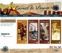 Ouverture du concours Carnet de voyage 2014 | Canopé académie de Nice | Carnet de voyage et de reportage intermédia | Scoop.it