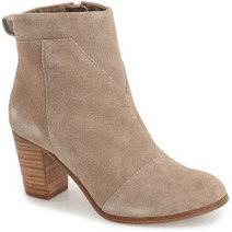 Lulus Cool Finds: Toms Suede Lunata Booties For Women | Cool Finds From Cyberspace | Scoop.it