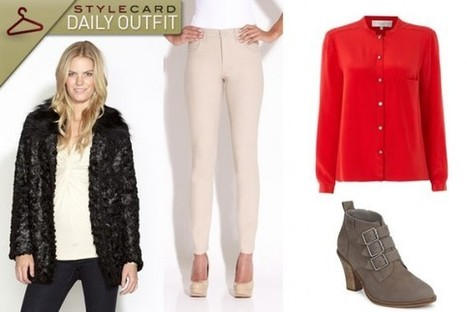 Daily Outfit: Feeling Furtive | StyleCard Fashion Portal | StyleCard Fashion | Scoop.it