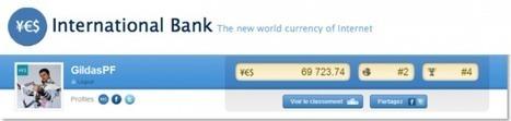 [Test exclusif] YesIBank, la monnaie qui récompense l'influence des internautes   FrenchWeb.fr   éducation_nouvelles technologies_généralités   Scoop.it