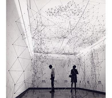 Gego: 'Reticulárea (ambientación)' | Art Installations, Sculpture, Contemporary Art | Scoop.it