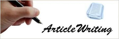 Article Writing Introduction | Web Design by D4Design | Design and Grow | Scoop.it