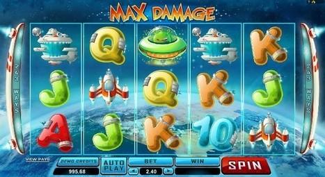 New Max Damage slot online | Online Slots | Scoop.it