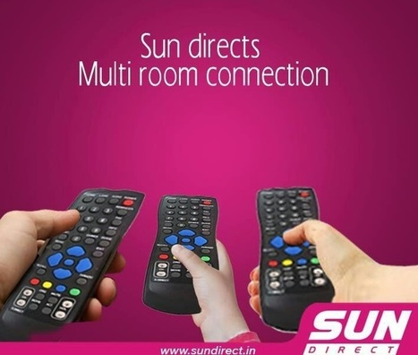 Sun Direct DTH Multi-Room Connections Offer | Dish TV Service Providers in India | Scoop.it