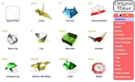Origami Player, un sitio para los aficionados a la papiroflexia o los que quieren aprender | Recull diari | Scoop.it