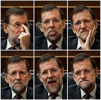 Los fotógrafos desafían a la censura en el Congreso con unas imágenes brutales de Mariano Rajoy|La Mancha Obrera | Partido Popular, una visión crítica | Scoop.it