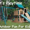 Residential Swing Sets For Kids
