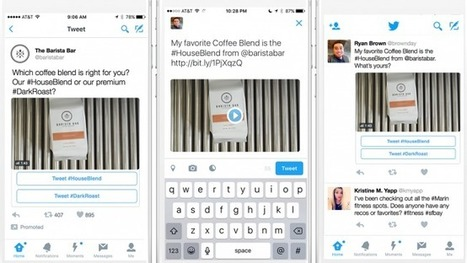 Twitter Releases 'Conversational Ads' to Help Users Talk About Brands | Digital Brand Marketing | Scoop.it