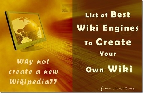 10 Free Wiki Software Platforms – Choose the Best One To Build You Wiki | e-Learning - Teaching through Technology | Scoop.it
