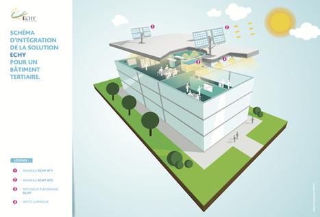 Transporteurs de lumière « Faites le plein d'avenir - Le webzine des Energies Renouvelables | Innovation dans l'Immobilier, le BTP, la Ville, le Cadre de vie, l'Environnement... | Scoop.it