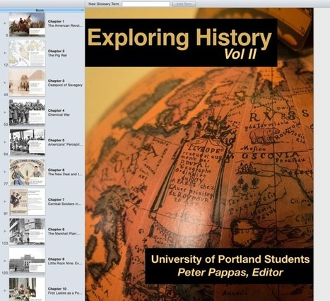 Exploring History in 10 Interactive Lessons | Publishing with iBooks Author | Scoop.it
