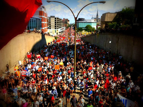 Success in Quebec Speaks to Power of Mass Movements | News on World Events | Scoop.it