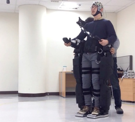 Brain Controlled Exoskeleton to Let Severely Disabled Take a Walk | Medical Device and Microwave Ablation News | Scoop.it