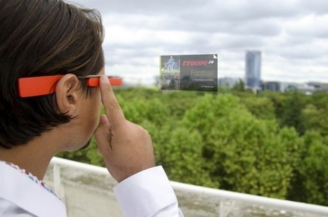 L'Equipe, pionnier des Google Glass en France | Smart Glasses | Scoop.it