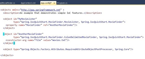 Chapter1.Using the Spring.NET Visual Studio Extension | SPRING.NET Tutorial | Scoop.it
